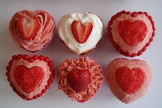 Strawberry Shortcake Cupcakes #TheChew