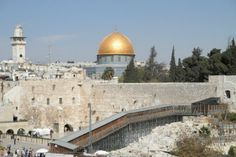 Palestinians declare war over Temple Mount (The temple has to be rebuilt before the end of days.)