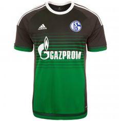 Das Ausweichtrikot des FC #Schalke 04 für die #Bundesliga Saison 2015/2016 präsentiert sich in einem schönen Design und gehört in jeden Kleiderschrank eines Schalker Fans.