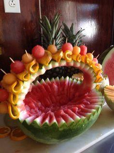 Canasta de frutas . Lista para llenarla