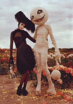 Tim Burton for Harper's
