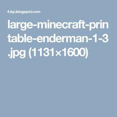 large-minecraft-printable-enderman-1-3.jpg (1131×1600)