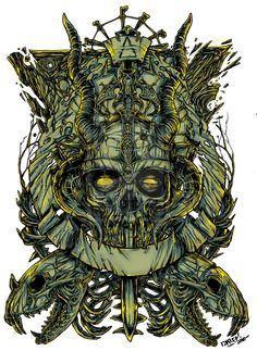 Dead Warrior by tzarshame.deviantart.com on @deviantART