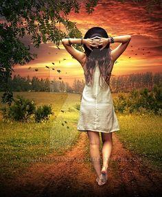 walking for love by Tilantha-hansanath.deviantart.com on @DeviantArt