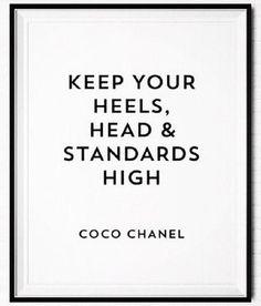 heels + head + standards + high