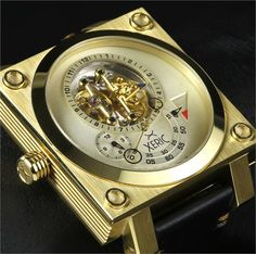 Xeric Xeriscope Squared All Gold Limited Edition Watch