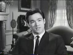 Here's where the legend of Bruce Lee all began (at least for American audiences). Back in 1964, Lee, only 24 years old, was invited to audition for The Green Hornet. And he nailed it, landing a starring role on the short-lived ABC television series. Most of the action begins at around the 4 minute mark.