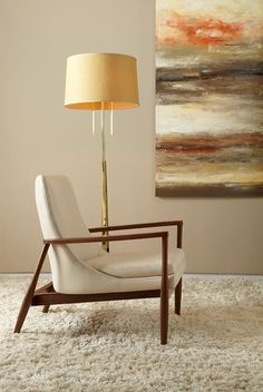 American Leatheru0027s Aaron Chair  A Midcentury Modern Masterpiece. Available  Through Stickley, Audi U0026