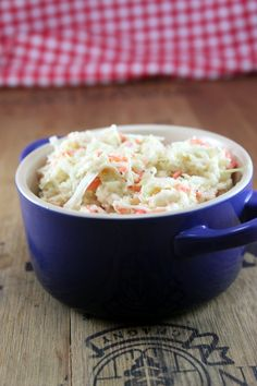 Amuse Bouche: Cole Slaw This is the best I've ever had!  Although I just used the pre-packaged slaw.  The sauce is amazing!  I used a little less onion though.  Remember, shredded onion has a stronger flavor.