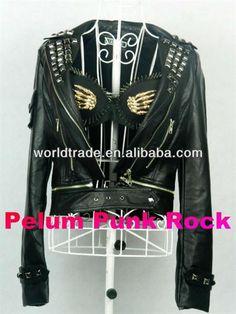 Кожаные куртки штаны рок