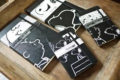 oh my gosh these are just about the cutest moleskines ever.