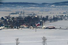 January after Jonas at the Hurst House Bed & Breakfast, Lancaster County PA