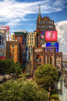 Vegas Baby!   New York New York on the Strip   Las Vegas, Nevada