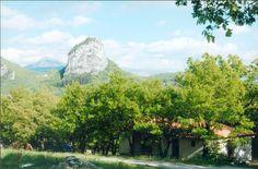 La Briance, Aire naturelle de camping in Drome (Saoû). Kleine camping met mooi uitzicht en zwembad