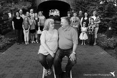 Large Extended Family Photo Shoot Poses & Ideas | Deanna Loren Photography