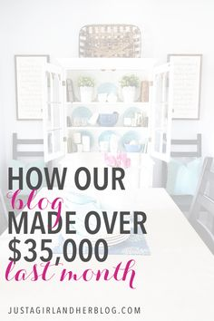 This couple made over $35,000 from their blog last month, and they explain how they did it in this income report! Click through to the post for details!