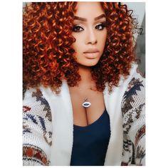 Red Hair, Black Hair, Braided Bun Hairstyles, Natural Styles, Natural Curls, Curly Hair Styles, Braids, Photo And Video, Nature