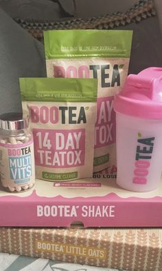 There are so many Bootea products to try!