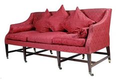 A 19th century mahogany three seater settee - Lot 142 - Furniture, Works of Art & Clocks