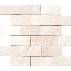 MS International 3 In. x 6 In. Bologna Chiaro Travertine Floor & Wall Tile
