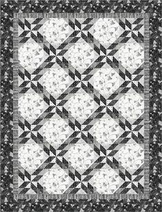 Stonehenge Ginko: Glimmer - PTN595 Kate Mitchell of Kate Mitchell Quilts