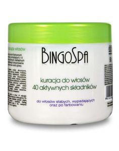 BingoSpa Kuracja do włosów z 40 aktywnych składników