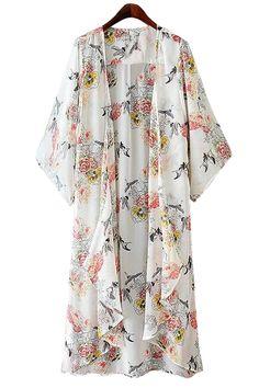 floral house kimono
