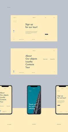 How to Design the Right Kind of Web Design Portfolio For Your Business? Website Design Inspiration, Website Design Layout, Web Layout, Minimal Web Design, Gfx Design, Design Design, Flat Design, Theme Design, Web Design Mobile