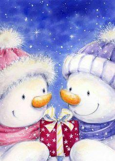:)  Snowmen  :)