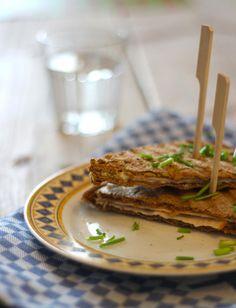 Lekkere tosti variant met kipfilet en philadelphia - Lekker en Simpel