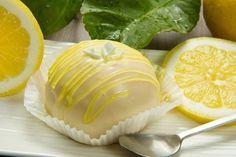 Tortino al limone glassato