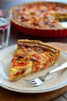 Szalonnás-hagymás-paradicsomos quiche recept Quiches, Cooking Recipes, Healthy Recipes, Hungarian Recipes, Paleo, Sweet And Salty, Winter Food, Food Hacks, Breakfast Recipes