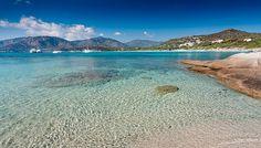 Campulongu Beach, Villasimius, Sardinia.