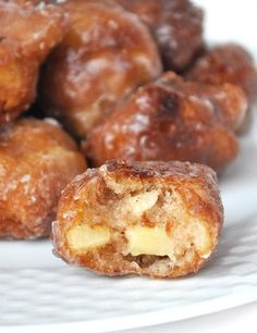 Homemade Apple Fritters. For ALL the cinnamon lovers who also happen to love a good, juicy, and crisp apple, this recipe was MADE for you