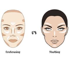 strobing-vs-contouring.jpg (640×564) Strobing doesnt look good on me because í have oily skin.