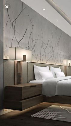 Nightstands, side tables, cabinets or chairs are some of the luxury bedroom furniture tips that you can find. Every detail matters when we are decorating our master bedroom, right? Luxury Bedroom Furniture, Modern Bedroom Decor, Contemporary Bedroom, Furniture Design, Furniture Makers, Hotel Bedroom Decor, Modern Luxury Bedroom, Bedroom Rustic, Bedroom Black