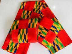 African Kente/ Traditional African Kente/ African print Kente Kente fabric design/Africa fabric/Traditional Fabric/Quality handwoven Kente/