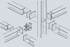 Knotenpunkt Stahlkonstruktion Steel Sheds, Steel Structure, Bar Chart, Layout, Civil Engineering, Uni, Design, Google, House