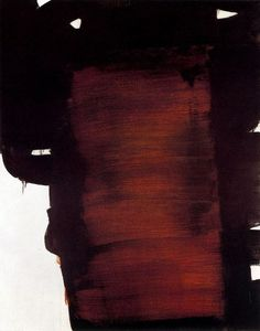 Pierre Soulages - Abstract Art - Informal Painting Plus Contemporary Abstract Art, Modern Art, French Artists, Art Plastique, Abstract Expressionism, Sculpture Art, Art Photography, Art Gallery, Illustration Art