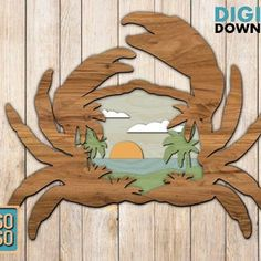 Turtle/ Ocean coast/ Laser cut files/ SVG/ DXF/ Home decor/   Etsy Jigsaw Puzzles For Kids, Bird Christmas Ornaments, Different Types Of Wood, Cardinal Birds, Laser Cut Files, Scroll Saw, Star Designs, Laser Cutting, Wood Art
