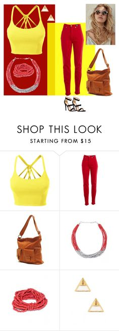 """Laid Back Style"" by stylecraver on Polyvore featuring LE3NO, Versace Jeans Couture and 14th & Union"