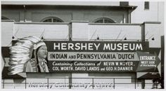 sign outside area/museum