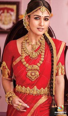You Can Shop Iconic Diamond Jewellery Collections Here Hindi Actress, Tamil Actress Photos, Bollywood Actress, South Indian Bride Saree, Indian Bridal, Kerala Bride, Indian Sarees, Nayanthara Hairstyle, Bollywood Photos