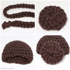 Princess Leia Inspired Beanie - Free Crochet Pattern