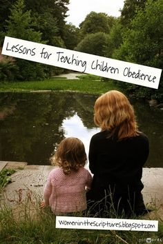 These are four awesome, complete lessons on obedience. Our family focus this month!