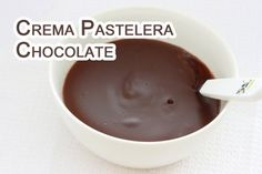 Crema Pastelera de Chocolate PARA  RELLENO