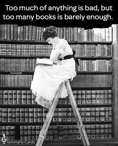 Never enough books!