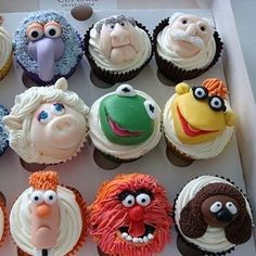 Cupcake ideas...I think you should make these for the next kiddo birthday party!