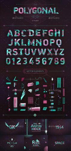 Polygonal Alphabet