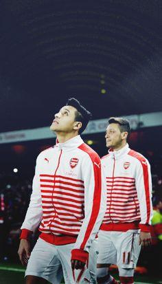 Alexis Sánchez and Mesut Özil - Arsenal